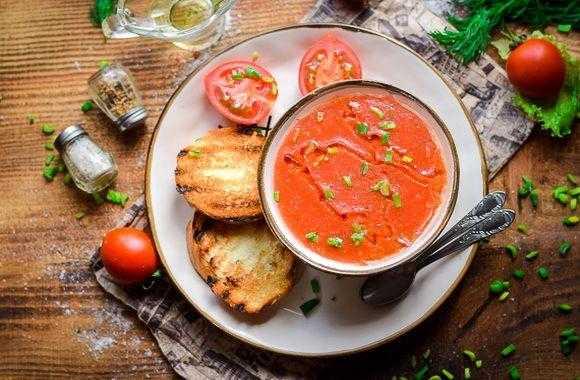 Томатный суп гаспачо | рецепт с фото пошаговый