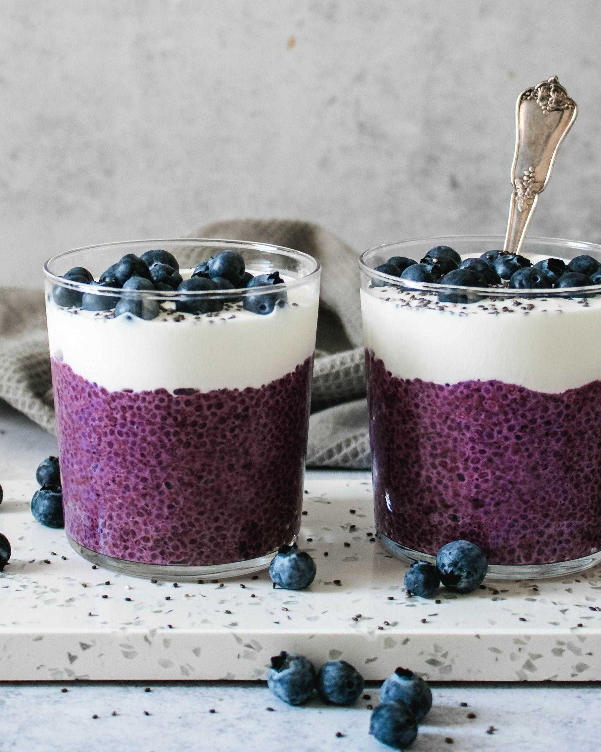 Рецепты с семенами чиа для похудения - в том числе десерты и напитки |