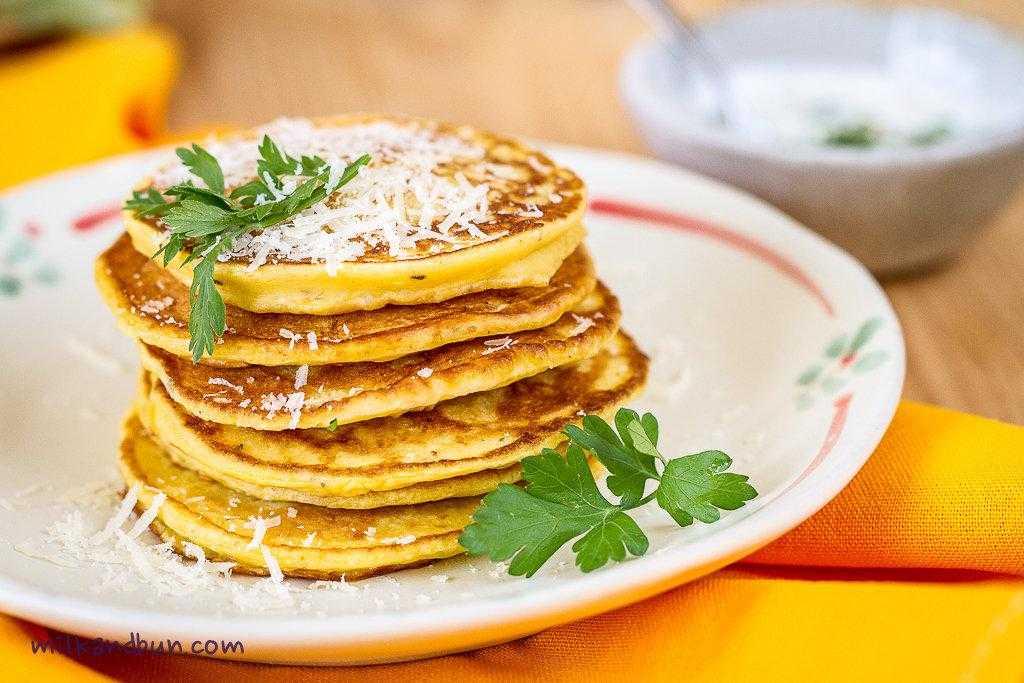 Оладьи из тыквы – кулинарный рецепт