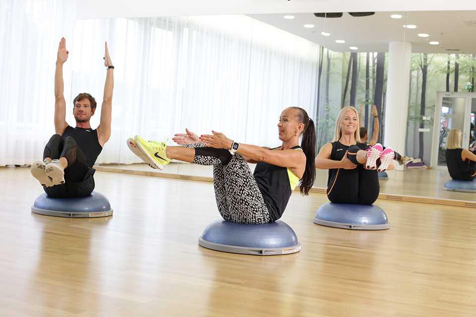 Платформа bosu: упражнения на тренажере - allslim.ru