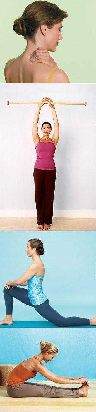 Как расслабить мышцы шеи в домашних условиях