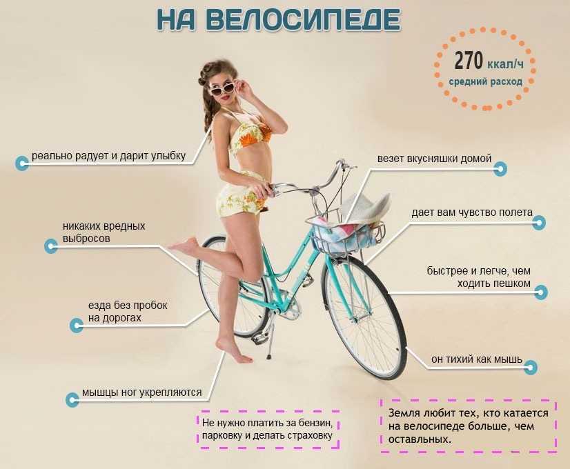 Велосипед для похудения проблемных мест