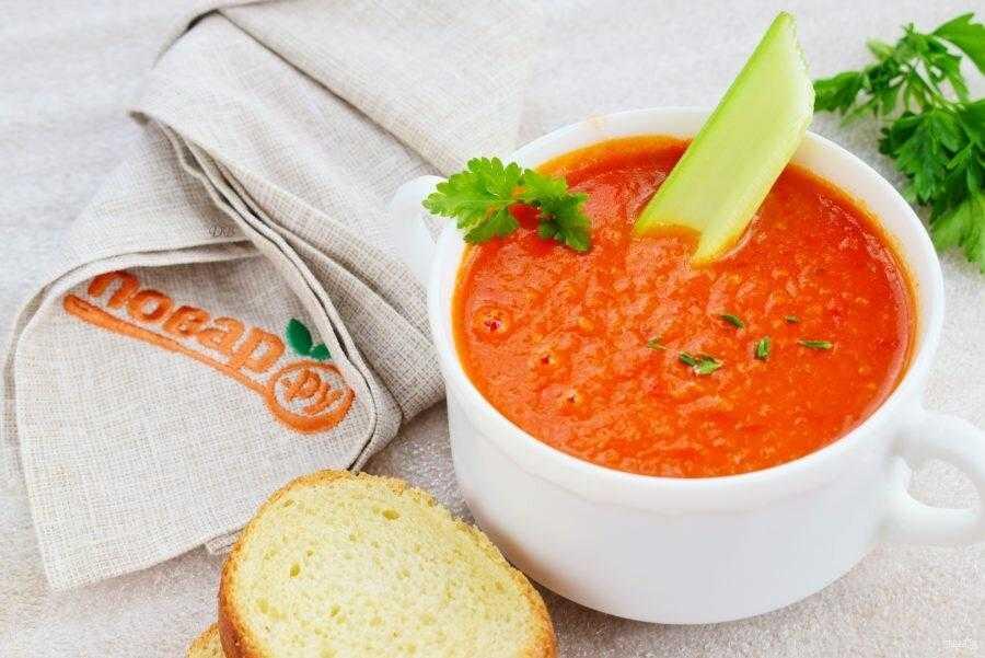 Томатный суп от мадам мегре – кулинарный рецепт