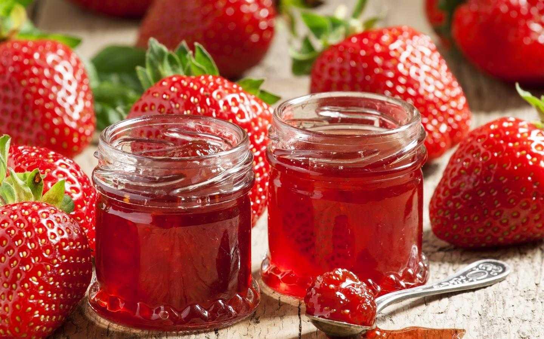 Рецепт джема из клубники на зиму (28 фото): как сварить клубничный конфитюр, как приготовить заготовки из лесной ягоды