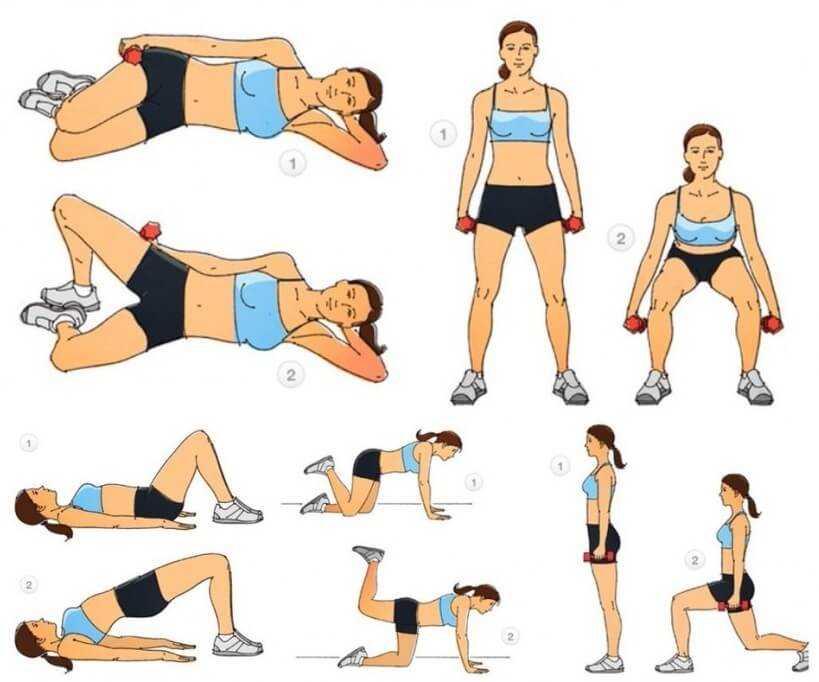 Как похудеть в ногах быстро и эффективно в домашних условиях - упражнения и диета для женщин