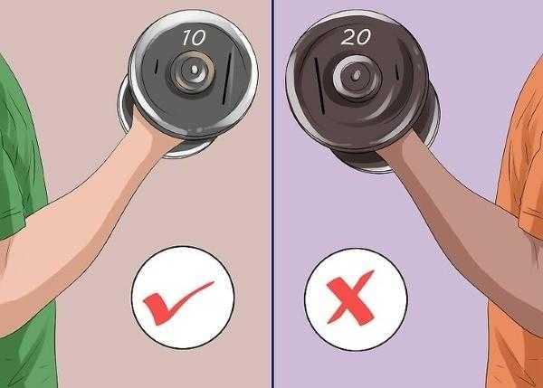 Какой вес гантелей выбрать женщине – рекомендации
