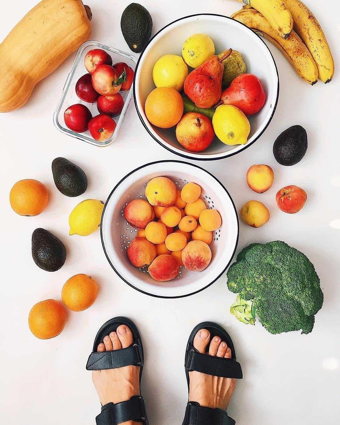 От каких фруктов и овощей худеешь «описание» меню диеты, отзывы