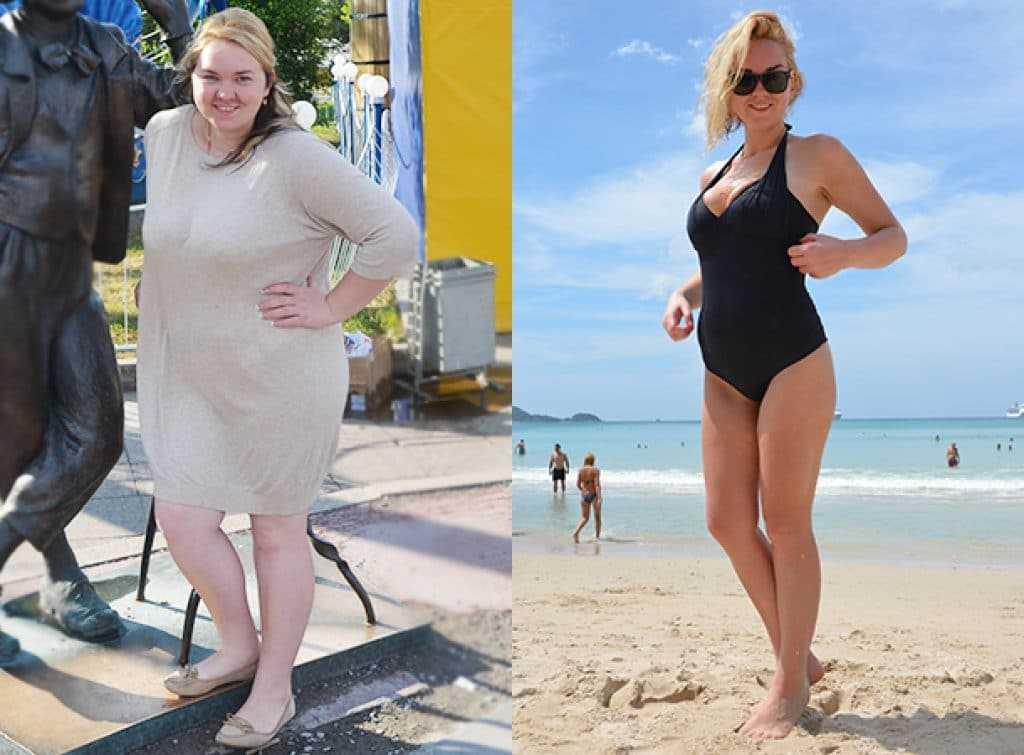 Реальные истории похудения с фото до и после - allslim.ru
