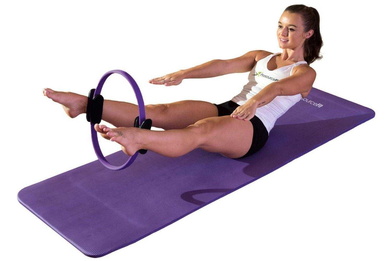 12 базовых упражнения пилатеса для мышц пресса и спины
