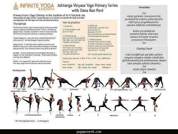 Аштанга виньяса йога:описание, особенности стиля