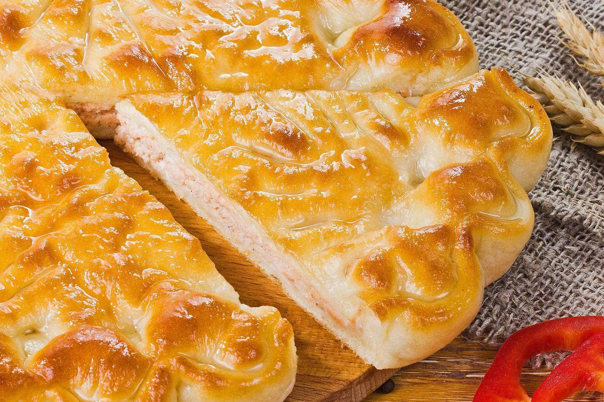 Домашний пирог с семгой – кулинарный рецепт