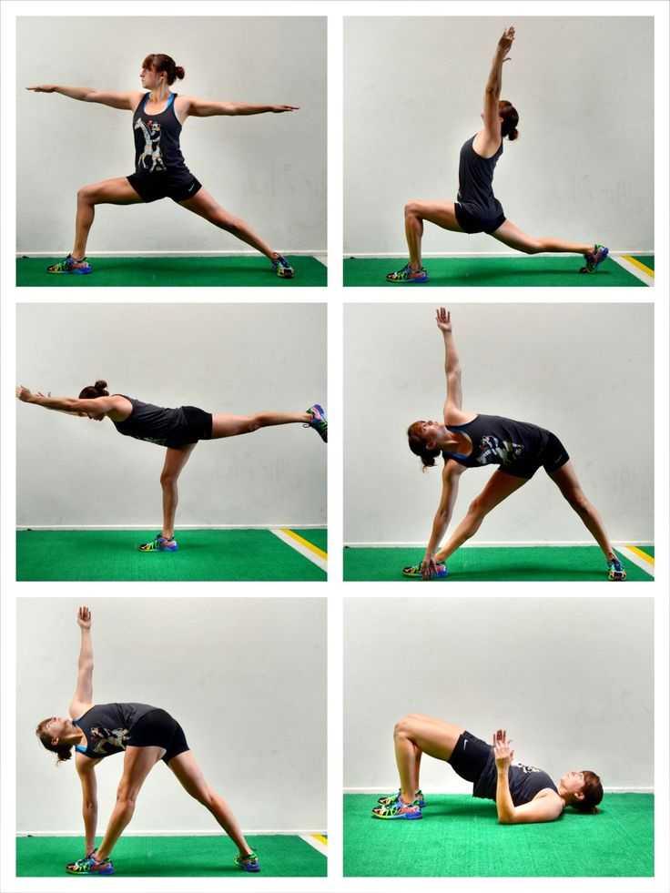 Программа тренировок для начинающих: упражнения по дням недели