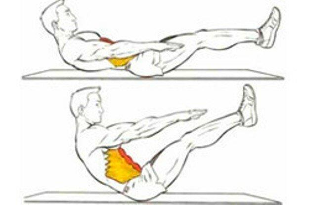 21 упражнение для мышц пресса и спины со своим весом
