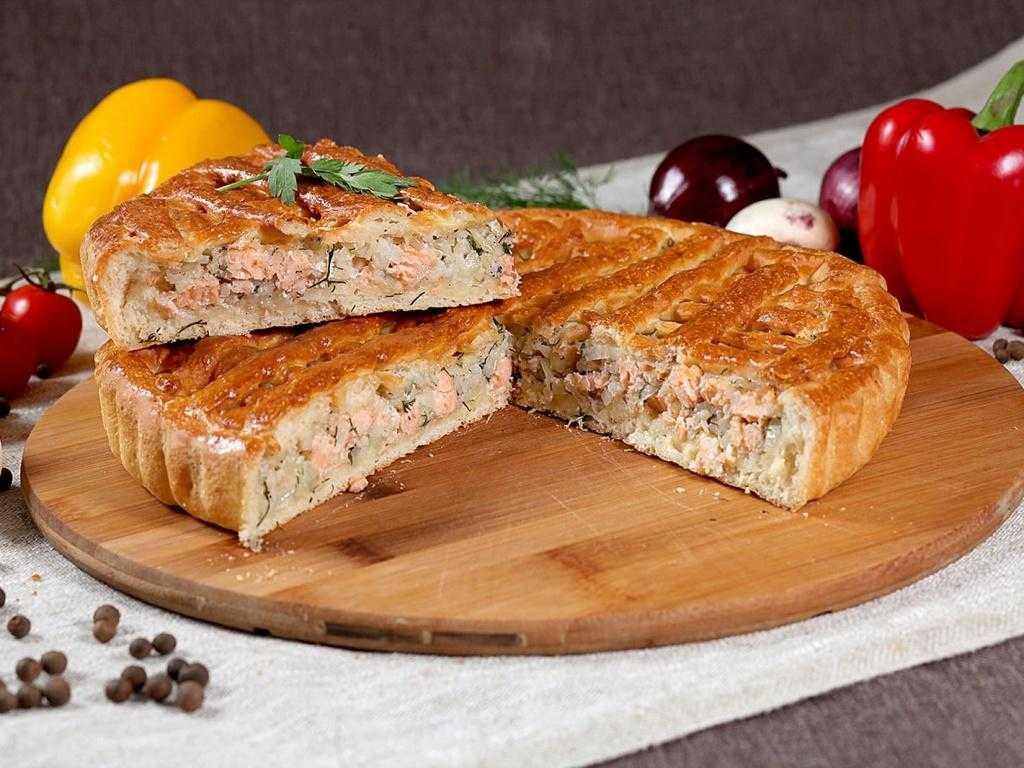 Закрытый рыбный пирог с сёмгой (очень сочный и нежный) « рецепты надежды