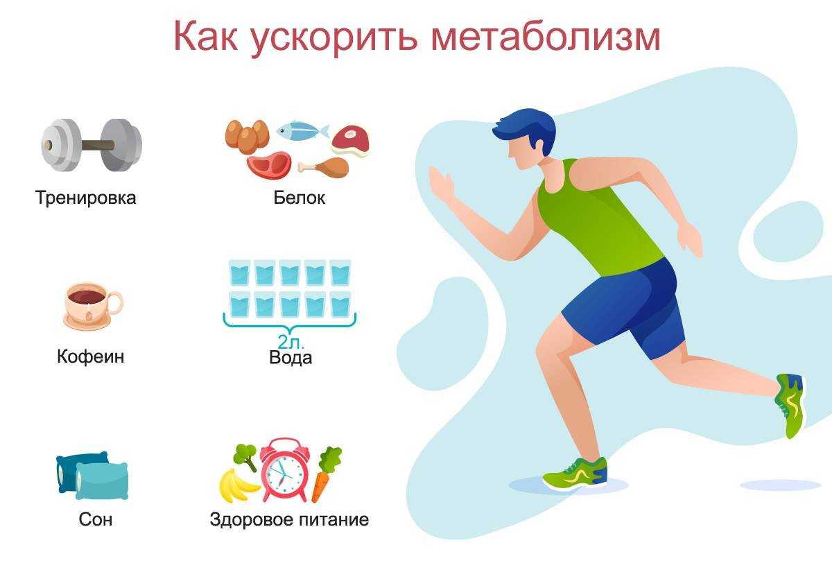 Как разогнать метаболизм для похудения и улучшить обмен веществ