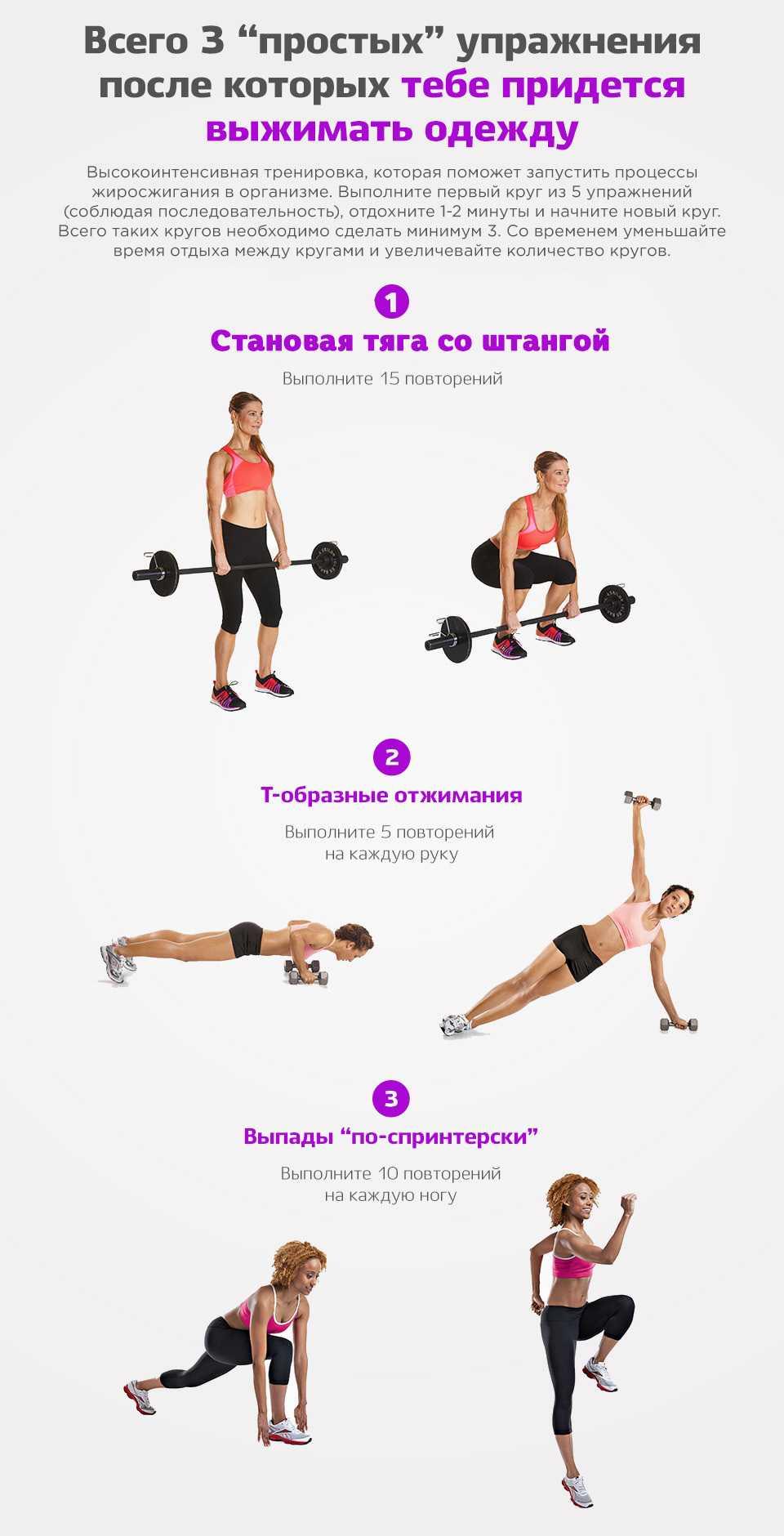 Круговые тренировки — что это за метод и для чего он нужен Примеры тренировочных программ для зала и для выполнения дома Работаем на все группы мышц