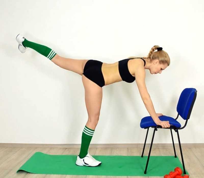 Махи ногами для похудения – упражнения для бедер
