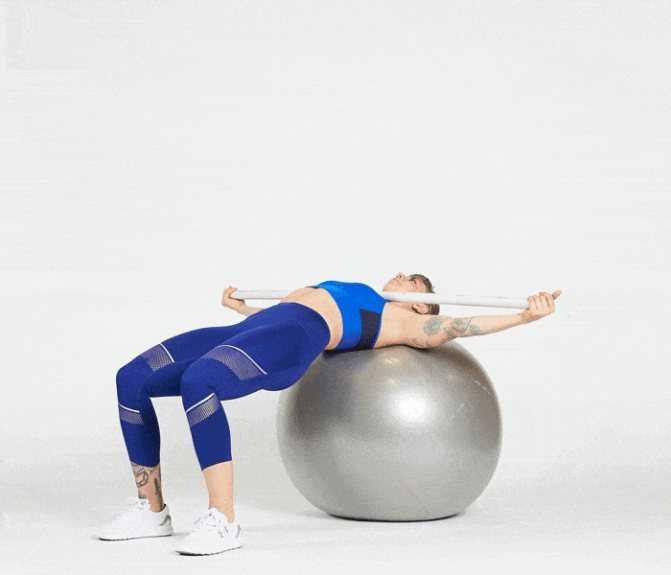 Упражнения с фитболом и как  с ним тренироваться