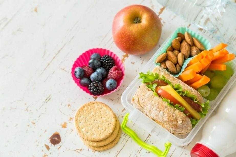 Правильные перекусы для похудения - примерные рецепты