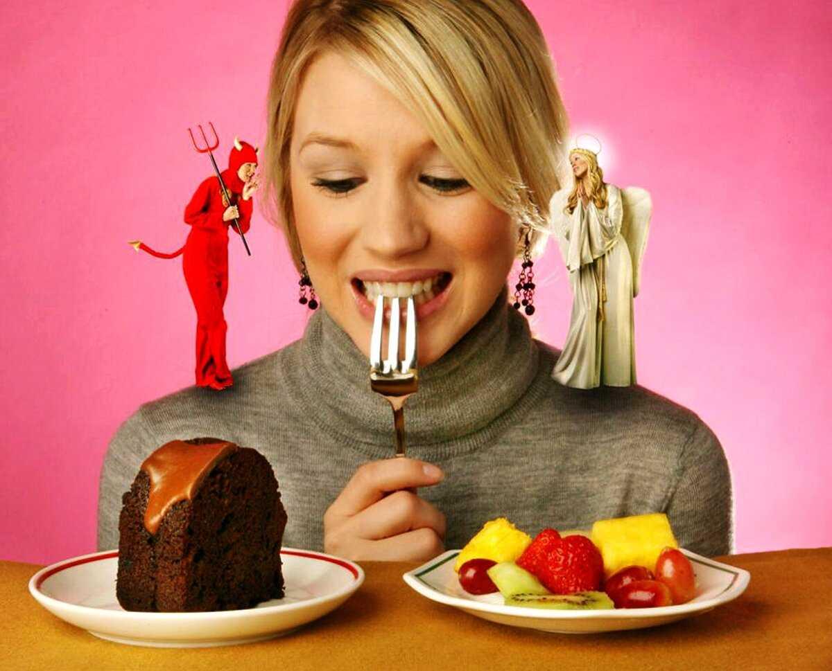 Как перестать жрать все подряд. советы для похудения
