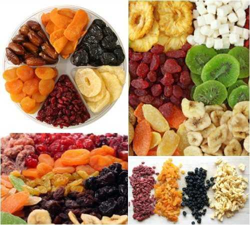 Сухофрукты при похудении: какие можно, какая польза при диете