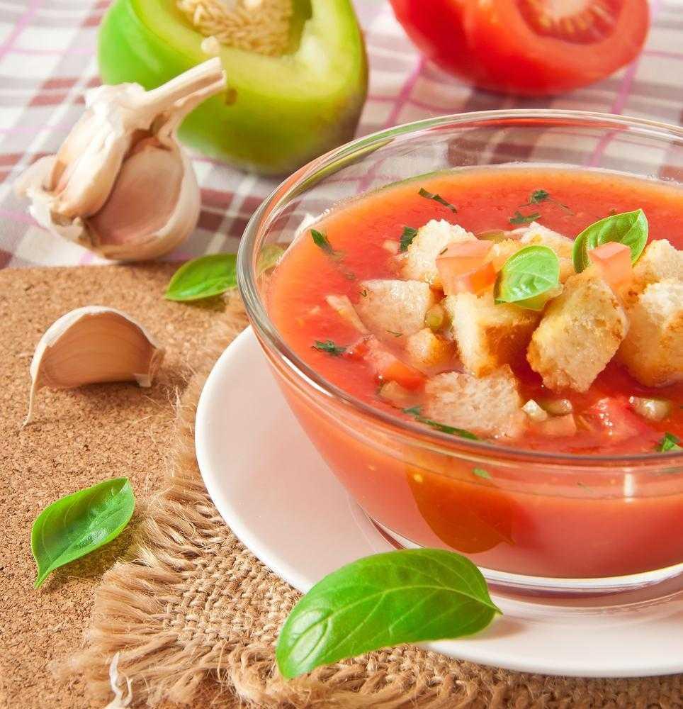 Холодный суп гаспачо - рецепт восхитительного блюда средиземноморской кухни