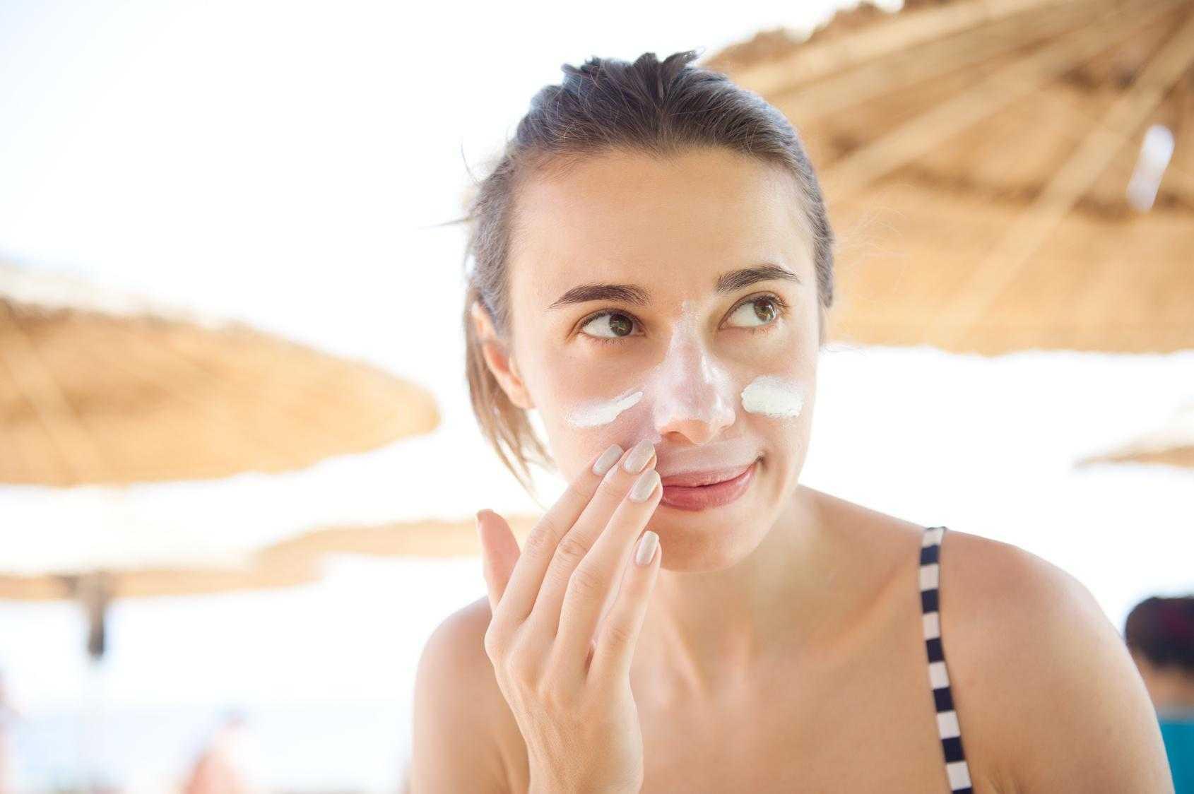 Как защитить лицо от солнечных лучей