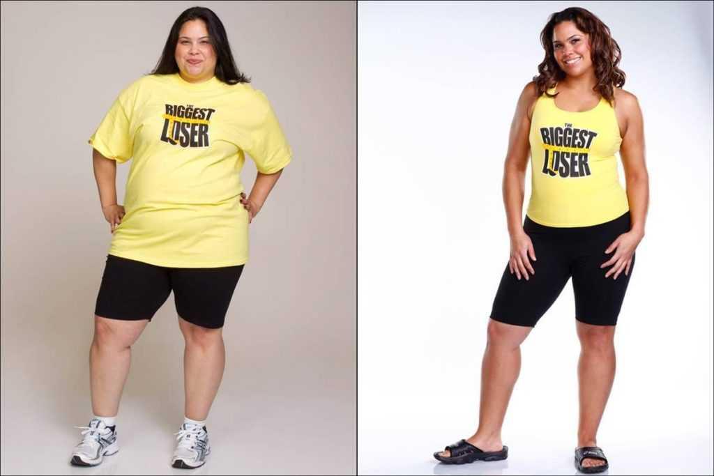 Невероятные истории похудения.