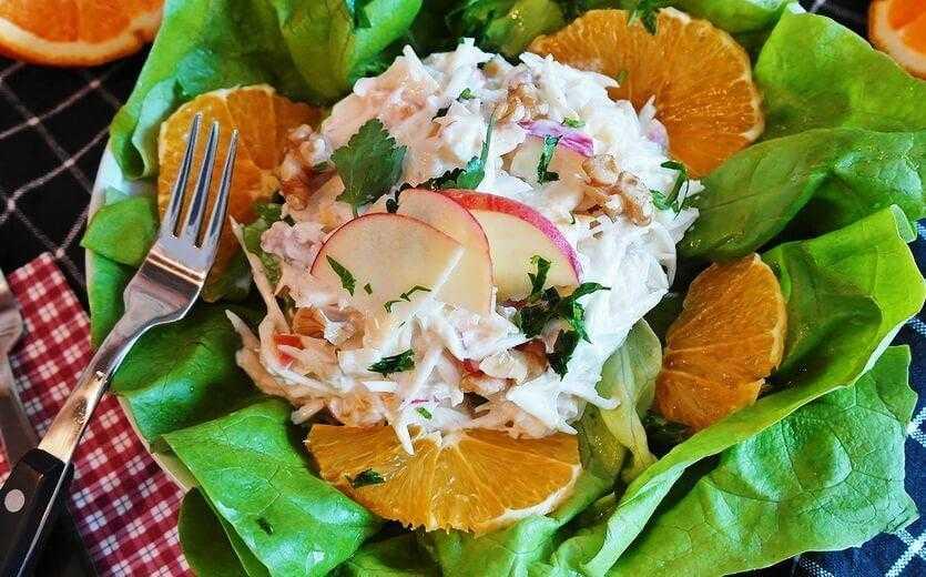 Салат из корня сельдерея для похудения – разнообразие вариантов приготовления