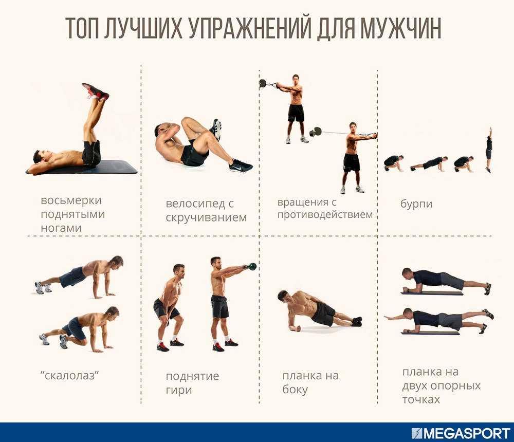 Готовая тренировка для девушек: 30 упражнений для похудения и тонуса тела