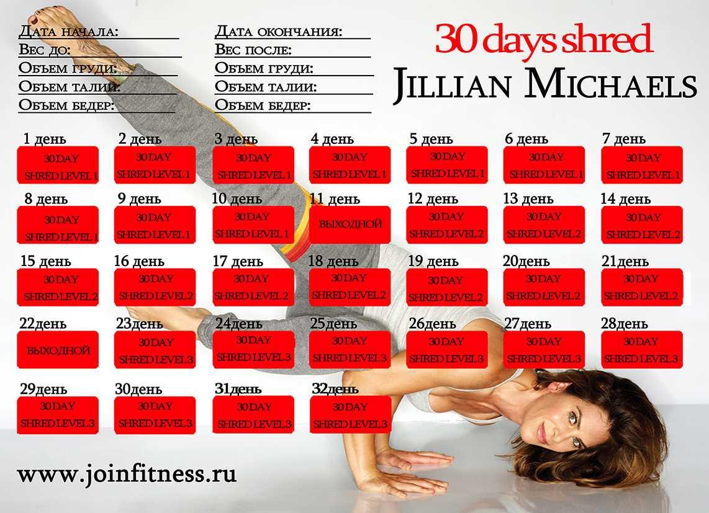 Джиллиан майклс: диета 30 дней - все про диеты
