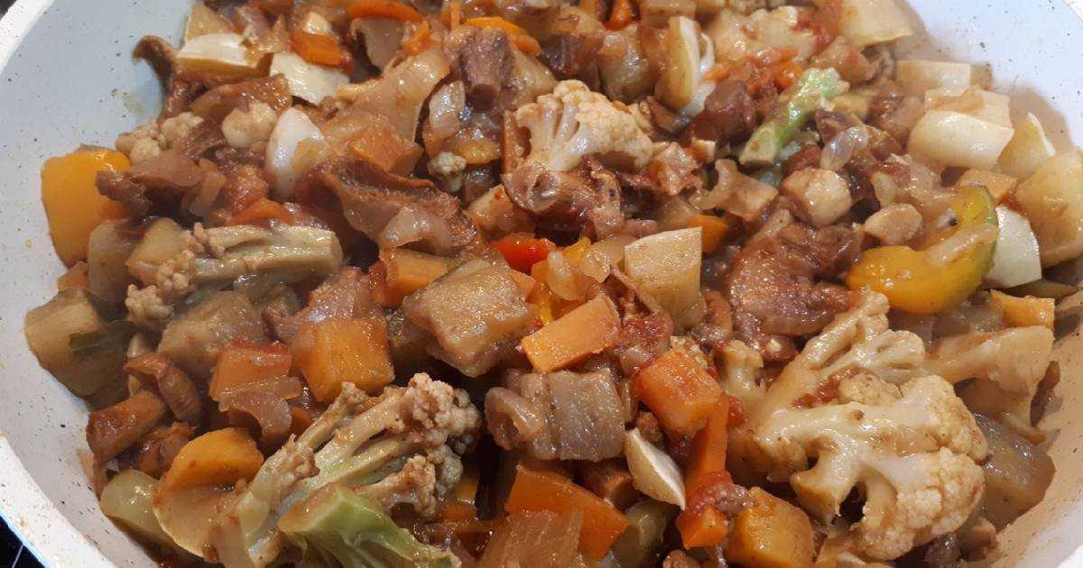 Рыбное рагу с овощами и тмином – кулинарный рецепт
