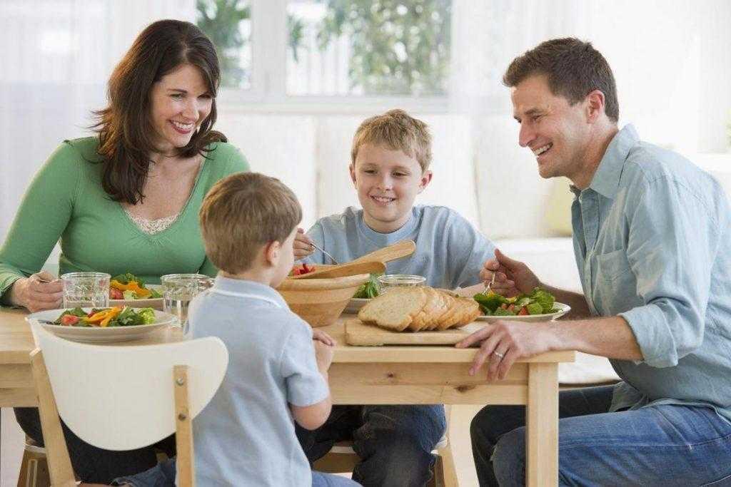Здоровое питание – полезная еда для всей семьи