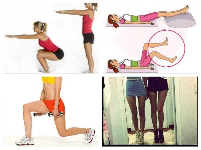 Эффективные советы и упражнения для похудения бедер и ягодиц