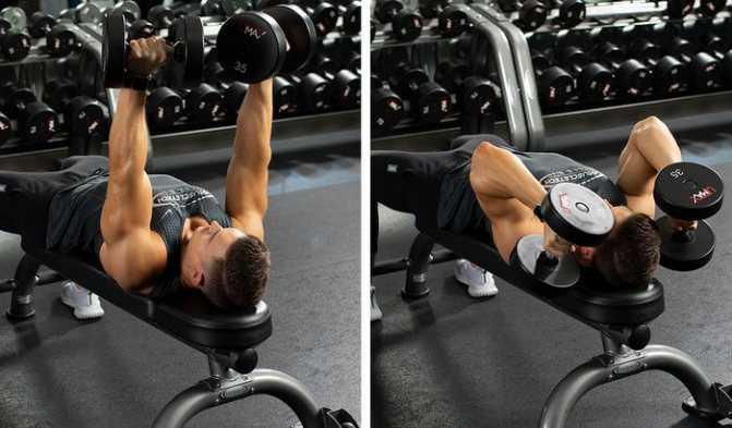 Как накачать трицепс— упражнения и схемы тренировок