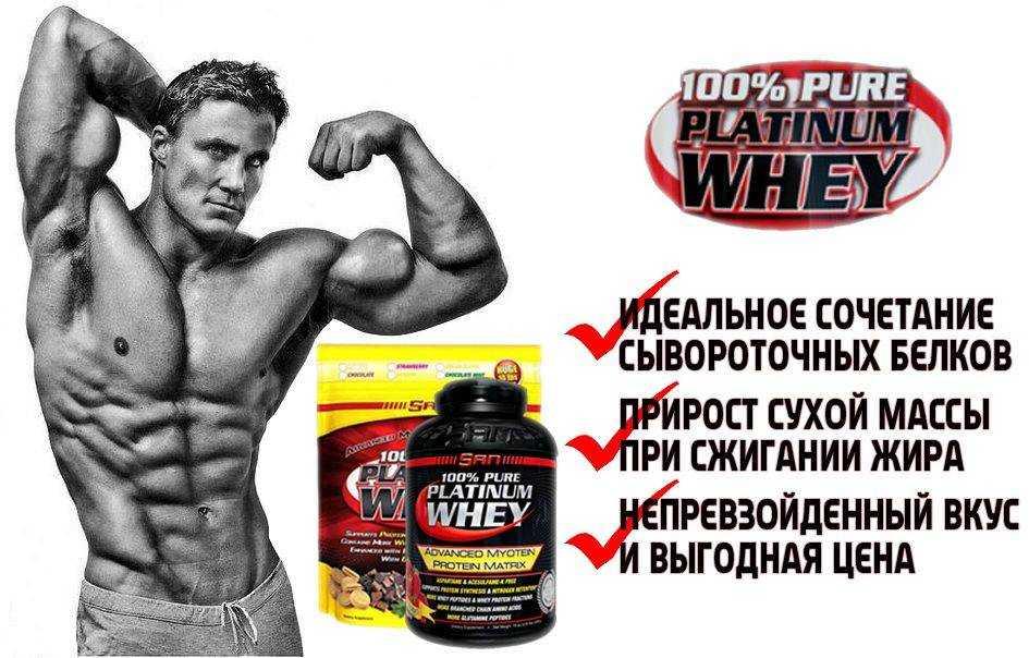 Чистый протеин без вкусовых добавок