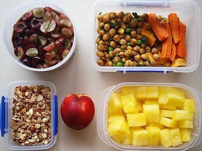 Рецепт здоровых перекусов или что взять с собой на работу?