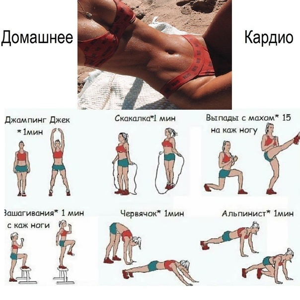 Топ-20 лучших видео кардио-тренировок для похудения