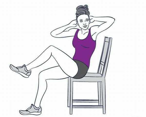 Упражнения при сидячей работе для женщин: 15 эффективных упражнений