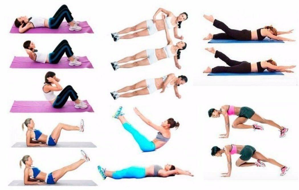 Как убрать жир со спины у женщин: упражнения в домашних условиях, тренажерном зале и другие методы