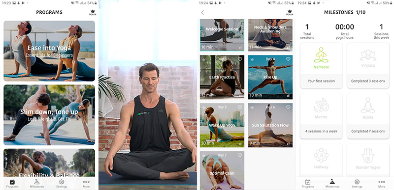 Подборка лучших бесплатных приложений на Android для йоги: для начинающих и для продолжающих, хатха-йога, короткие тренировки, для похудения и релаксации