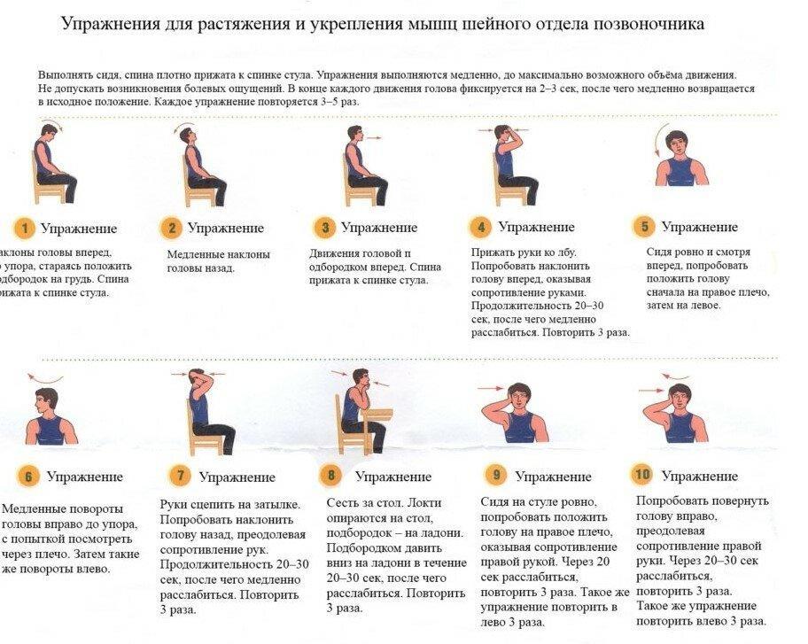 Гимнастика для сосудов (головного мозга, ног, шеи), комплексы упражнений
