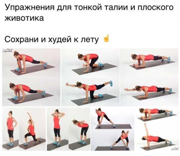 Лучшие упражнения для создания тонкой талии в домашних условиях | rulebody.ru — правила тела