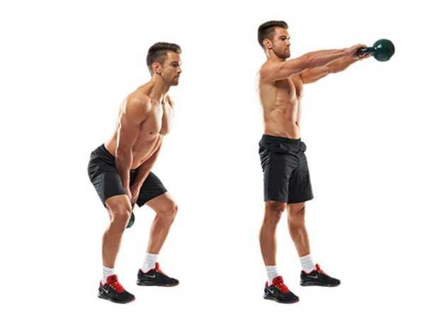 Лучшие упражнения с гирей в домашних условиях: программа тренировок с гирей на все группы мышц для похудения мужчин и жирсжигания