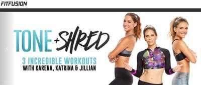 Фитнес-гуру Джиллиан Майклс и селебрити-тренеры Карена Даун и Катрина Скотт создали программу Tone and Shred: 3 эффективные тренировки для всех проблемных зон