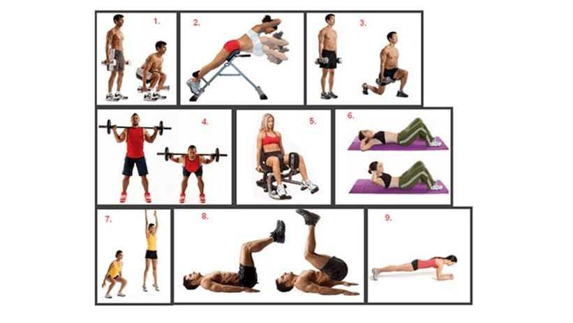 Программа тренировок по сжиганию жира для мужчин