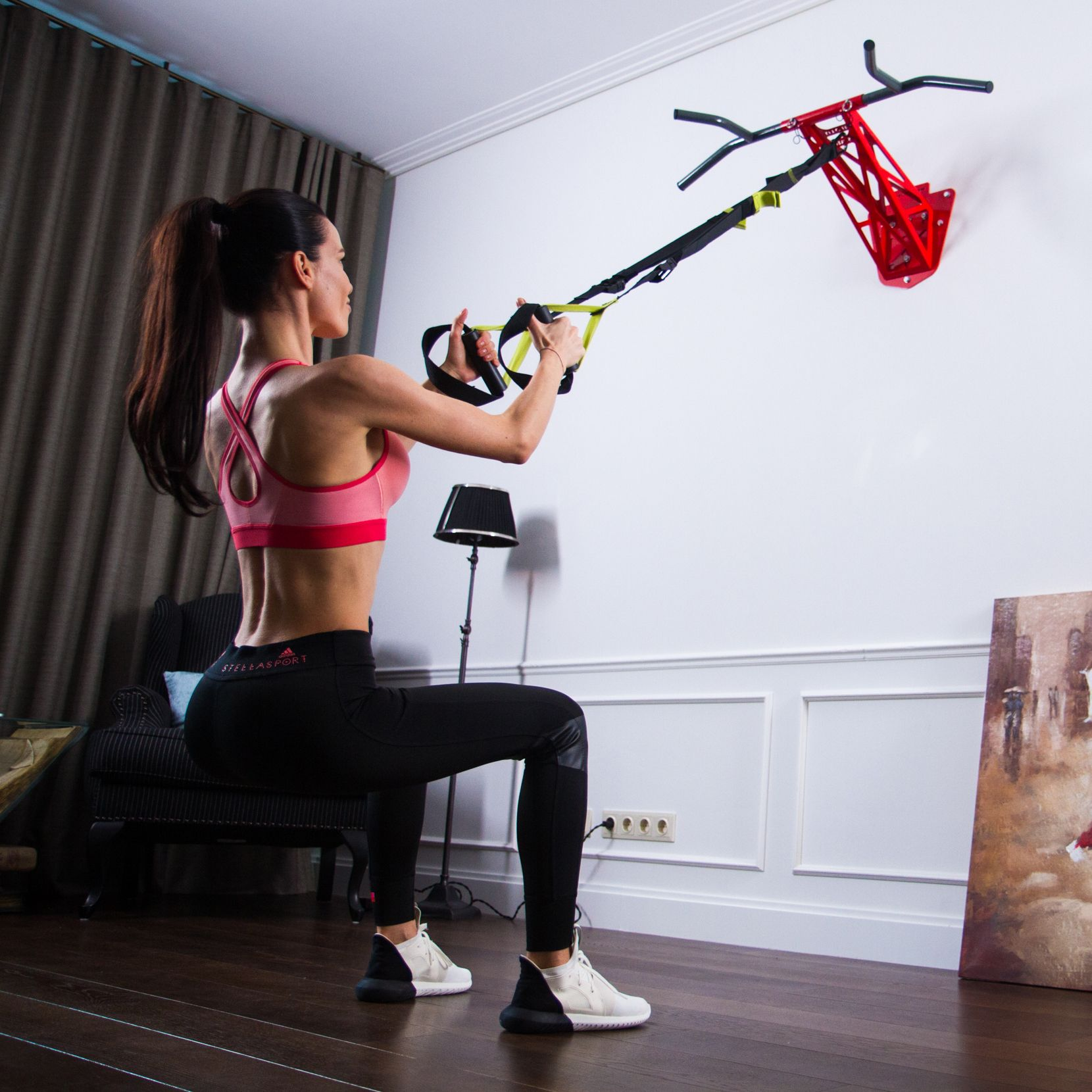 Спортивный инвентарь для дома: фото и описание