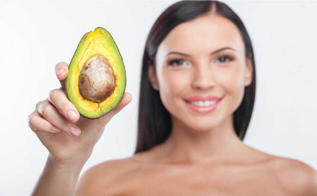 Маска из авокадо для лица ? - домашний авокадо