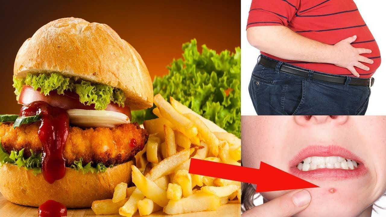 Чем вреден фаст фуд организму и есть ли полезный фастфуд