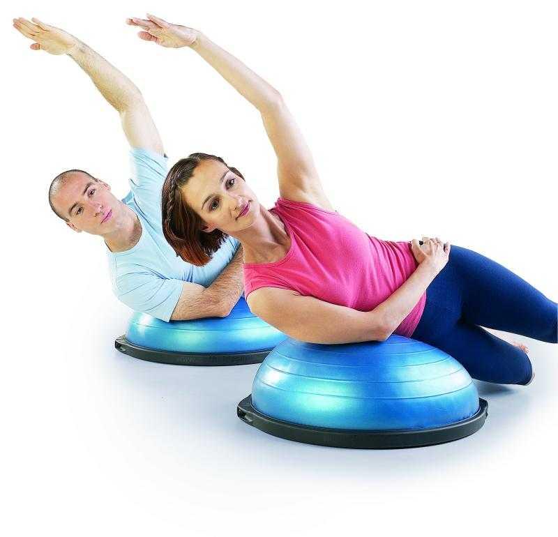 Босу фитнес: плюсы и минусы, комплекс упражнений - фитнес лэнд